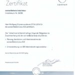 2016-04-07 Zertifikat Sonnen Batterie Installateur